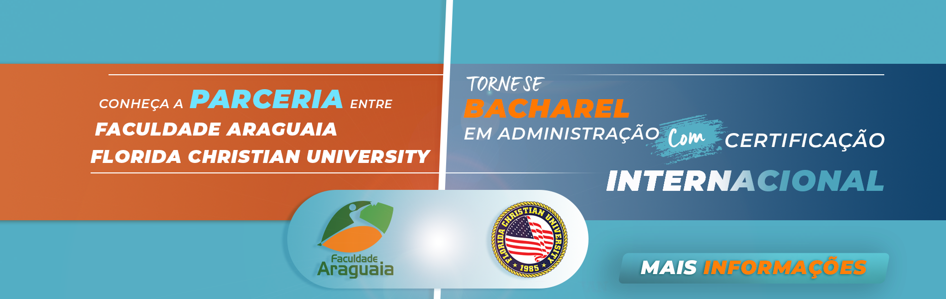 Parceria Faculdade Araguaia e Florida Christian University